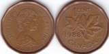 Canada 1988 - 1 cent, circulata