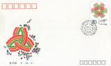 China 1990 - Ziua Internațională a Femeii, FDC