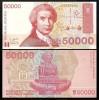 Croatia 1993 -  50.000 dinar, necirculata