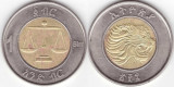 Etiopia 2016 - 1 birr, circulata