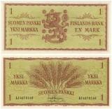 Finlanda 1963 - 1 markka, necirculata