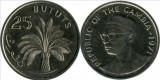 Gambia 1971 - 25 bututs, circulata