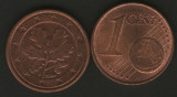 Germania 2004F - 1 eurocent, circulata