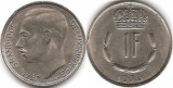 Luxemburg 1979 - 1 franc, circulata