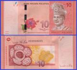 Malaysia 2012 - 10 ringgit, circulata