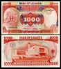 Uganda 1986 - 1000 shillings, necirculata