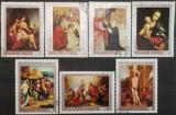 Ungaria 1970 - picturi din Muzeul Crestin, serie stampilata