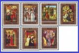 Ungaria 1973 - picturi din Muzeul Crestin, serie neuzata