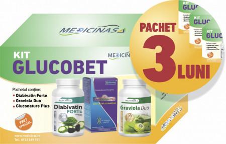 3 x Kit Antidiabet - pentru a ține glicemia sub control