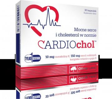 Cardiochol - 30 capsule - Supliment pentru tensiune si colesterol