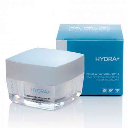 Intense Hydra + - cremă hidratantă cu pudră de diamant și venin de viperă Ammodytes
