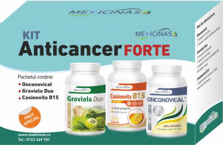 """KIT Anticancer FORTE + GRATUIT cartea """"Ce mănânci ca să combați cancerul"""""""