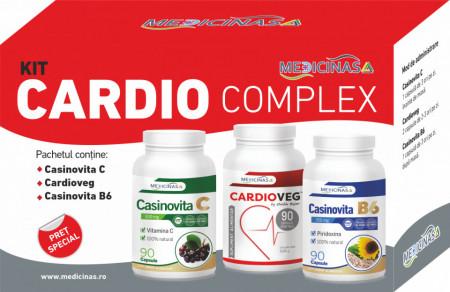 Kit Cardio Complex - pentru combaterea afecțiunilor cardiovasculare