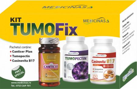 """KIT TUMOFIX - pentru stoparea dezvoltării tumorilor + GRATUIT cartea """"Ce mănânci ca să combați cancerul"""""""