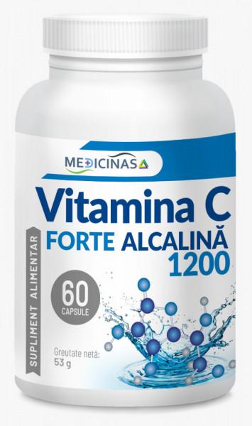 Vitamina C Forte Alcalină 1200 mg