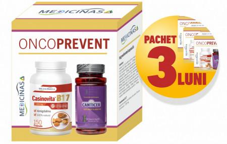 3 x ONCOPREVENT - pentru prevenirea afecțiunilor oncologice