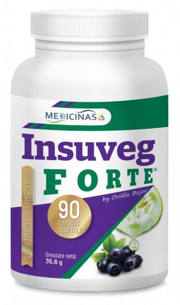 Insuveg Forte (Insulina vegetală) 90 cps.