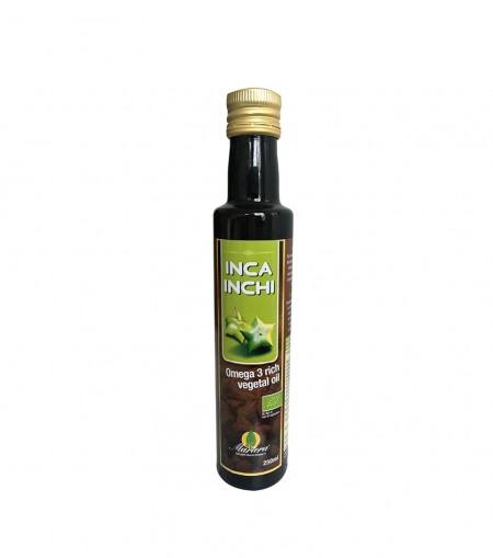 Ulei vegetal INCA INCHI bogat în Omega 3 - 100 % pur
