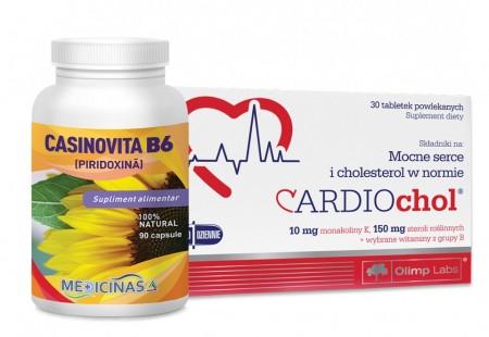 Cardiochol + Casinovita B6