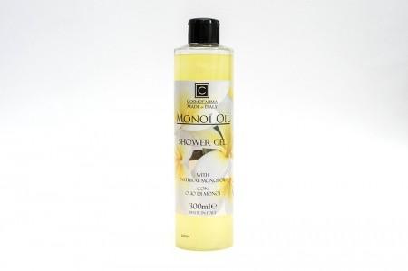 Gel de duș cu ulei natural de Monoi