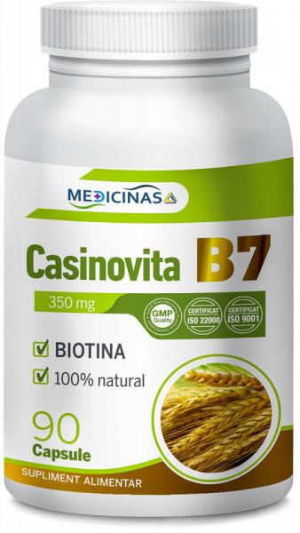 Casinovita B7 (Vitamina B7, Biotina sau Vitamina H)