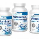 Vitamina c alcalina Forte 1200 mg - Pachet 3 luni