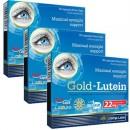 Gold Lutein 3 x 30 cps pachet pe 3 luni