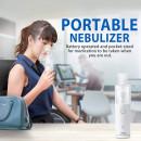 MicroAIR U100 - aparat aerosoli cu ultrasunete, portabil si silentios
