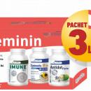 3 x Kit Feminin - Pentru reglarea functiilor hormonale si a sistemului imunitar la femei