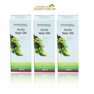 Patanjali Amla Hair Oil 100Ml- Set of 3 Bottle
