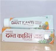 Patanjali Dant Kanti Dental Cream & Patanjali Dant Manjan | पतंजलि दन्त काँटी डेंटल क्रीम (30 grams | 100 grams | 200 grams)