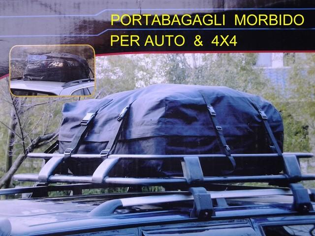 Box auto morbido portabagagli tetto baule 4x4 for 4 box auto