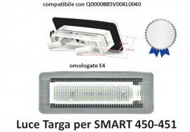 LUCI TARGA A LED SMART 450 451 DAYLIGHT immagini