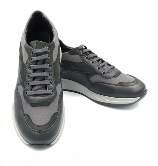 Pantofi sport barbati din piele naturala Maximilian Negru