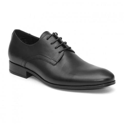 Pantofi eleganti barbati Berlin negru (piele naturala)