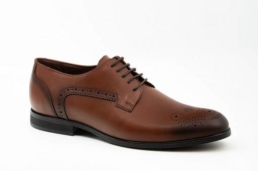 Pantofi eleganti barbati Baroc maro (piele naturala)