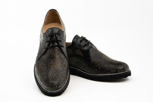 Pantofi CASUAL dama Danna Black (piele naturala)