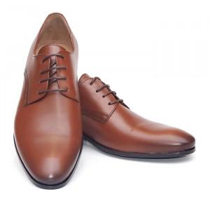 Pantofi eleganti barbati Berlin maro (piele naturala)