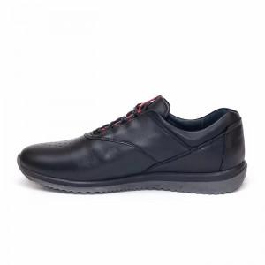 Pantofi sport barbati Zidan negru(piele naturala)
