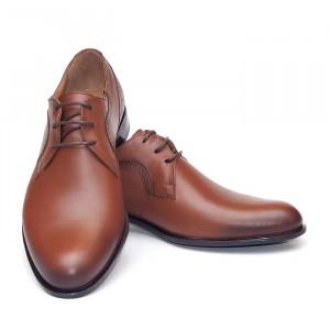 Pantofi eleganti barbati Praga maro (piele naturala)