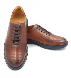 Pantofi sport barbati din piele naturala Dan Maro deschis