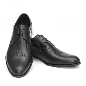 Pantofi eleganti barbati Belgium Negru (piele naturala)