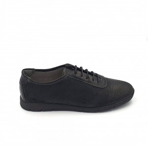 Pantofi sport dama din piele naturala Diana - Negru
