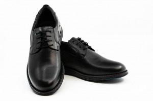 Pantofi casual barbati Duce negru (piele naturala)