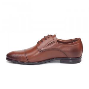 Pantofi eleganti barbati Dublin S maro (piele naturala)