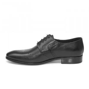 Pantofi eleganti barbati Monte Carlo negru (piele naturala)