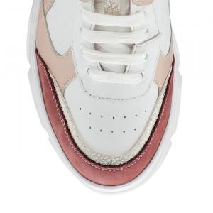 Pantofi sport dama Lenna Trois (piele naturala)