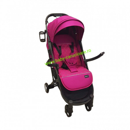 Cărucior sport ultracompact Baby Care S 600 Dark Pink