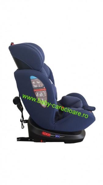 Scaun auto cu isofix 360° Baby Care Albastru