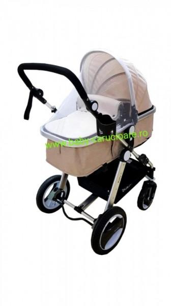 Cărucior nou născut 2 in 1 Baby Care S 535 Beige